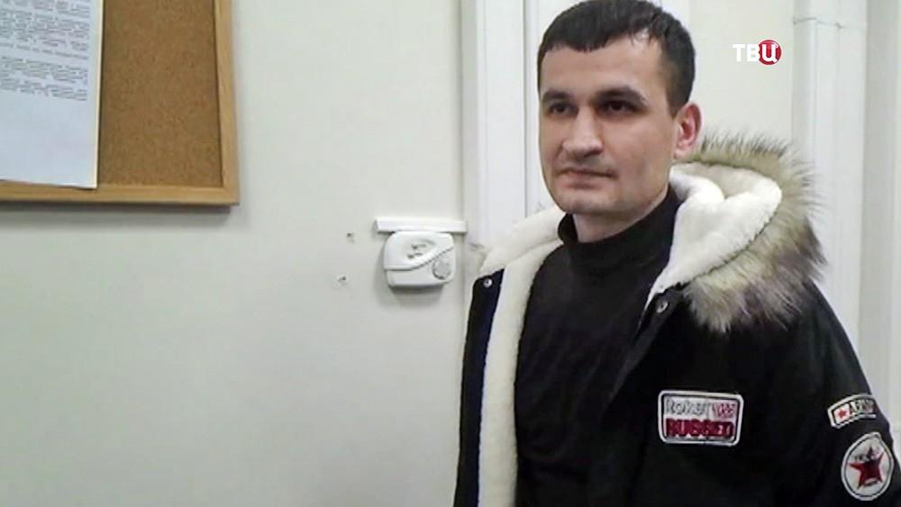 Задержанный по подозрению в терроризме