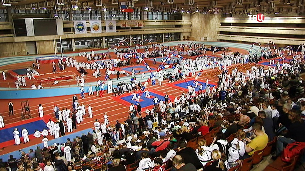 Соревнования по тхэквондо