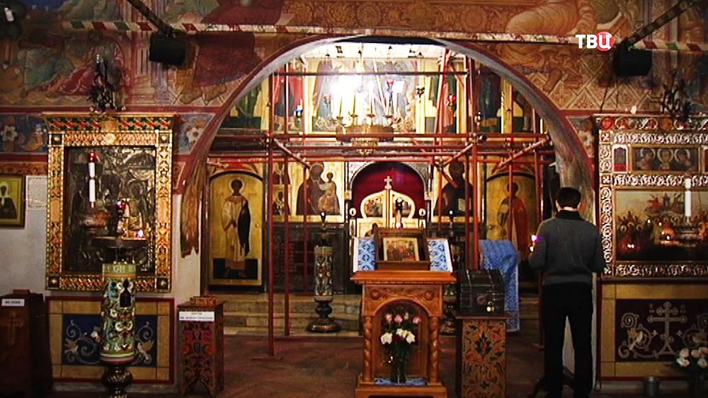 Реставрация храма Малое Вознесение