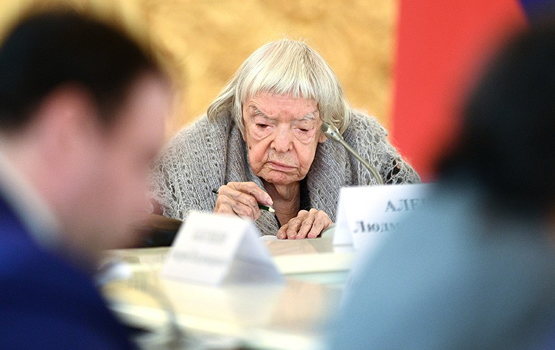 Правозащитник, общественный деятель, председатель Московской Хельсинкской группы Людмила Алексеева
