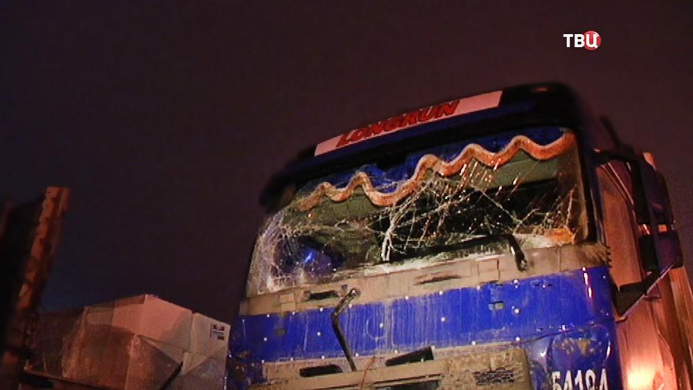 Последствия ДТП с участием грузовиков