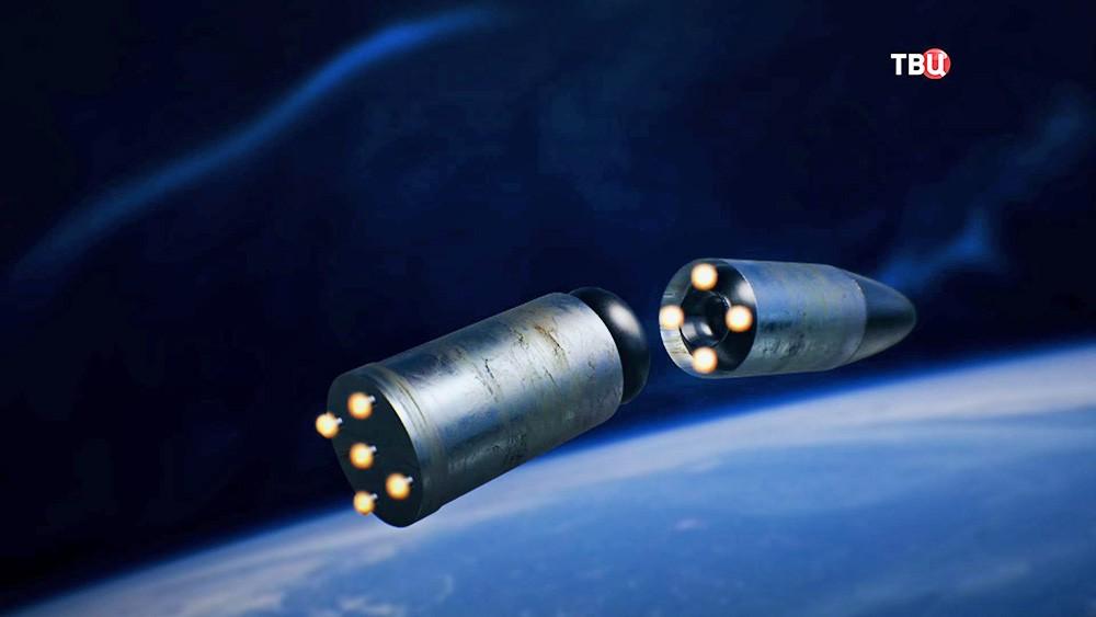 """Модель полета ракеты """"Ярс"""""""