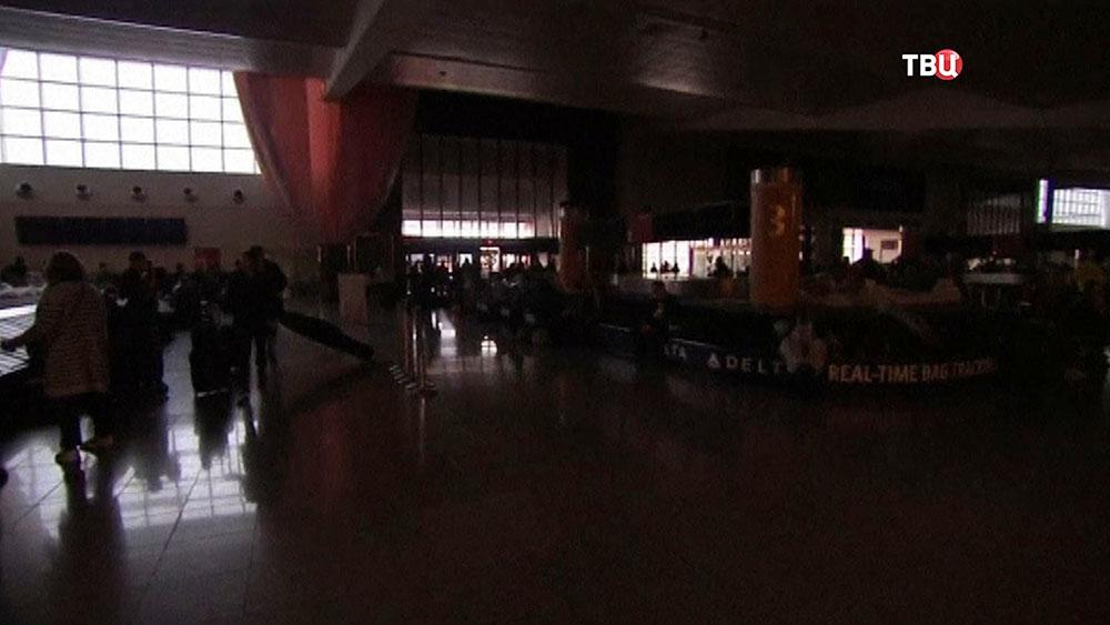 Аэропорт Атланты (США) без электричества