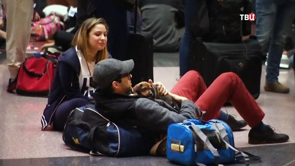 Задержка рейсов в США