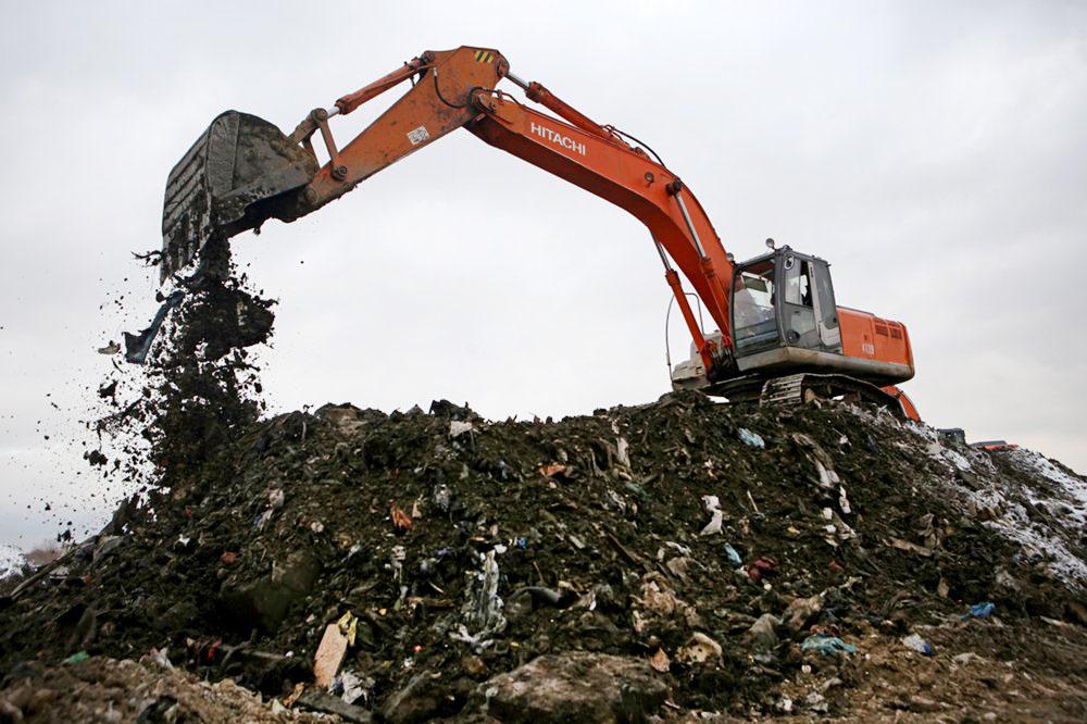 Рекультивация мусорной свалки