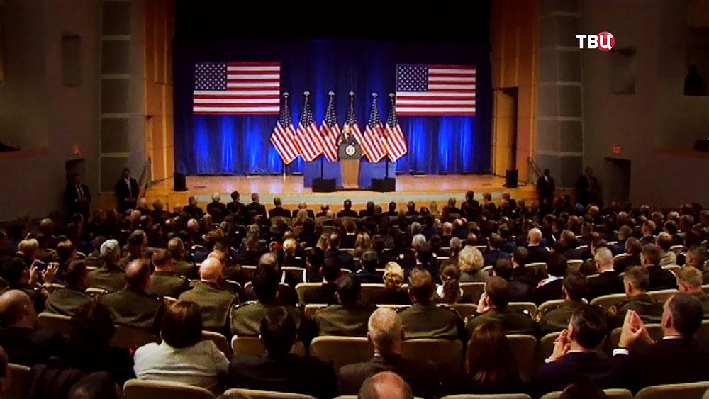 Выступление Дональда Трампа