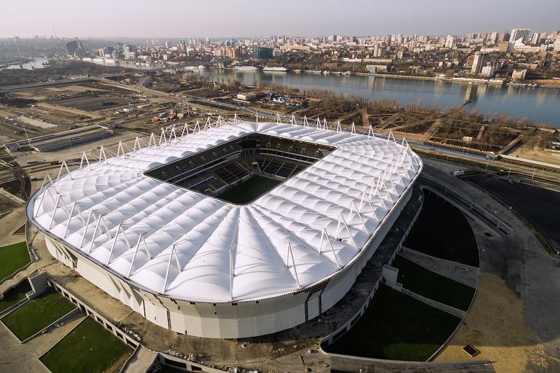 Строящиеся стадионы россии фото