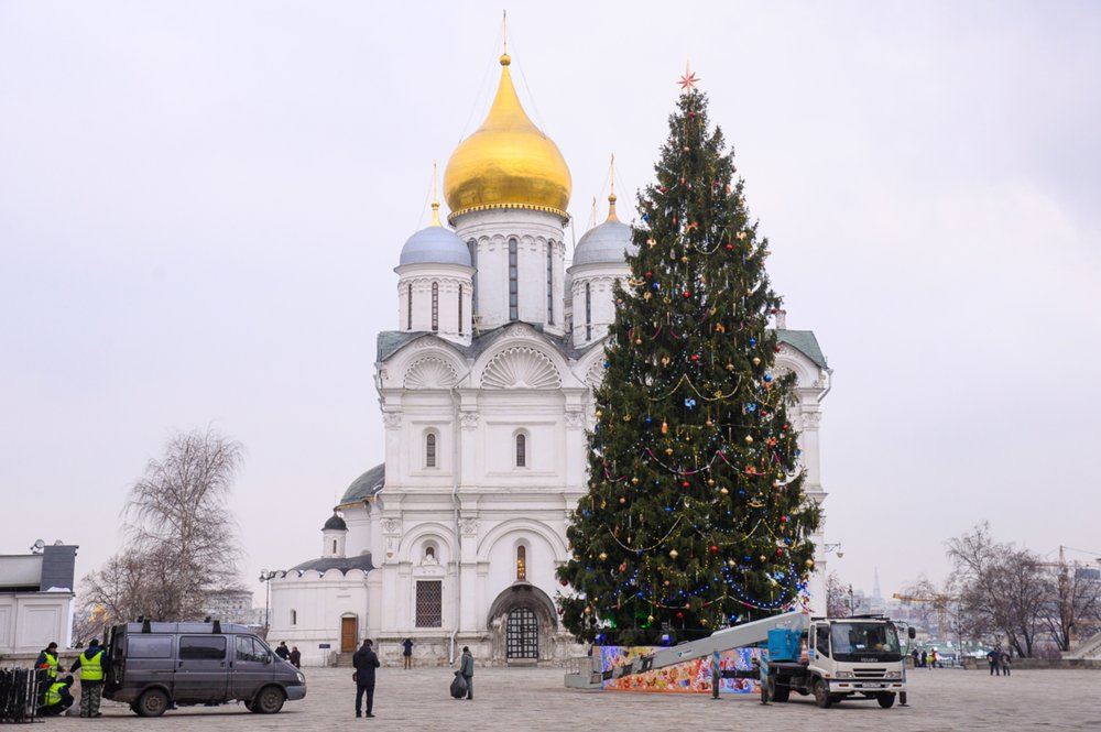 Презентация главной новогодней елки страны