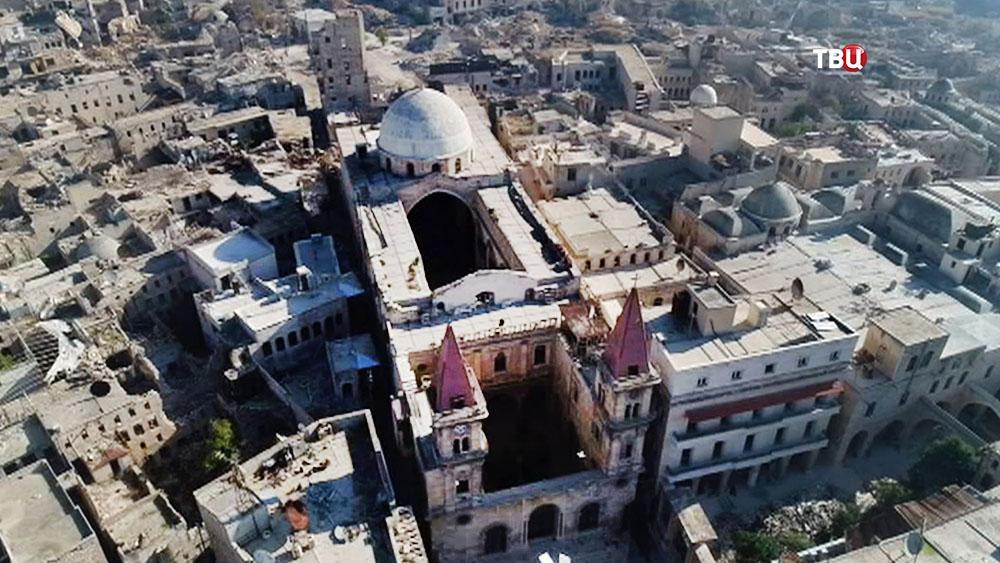 Католический костел в Алеппо