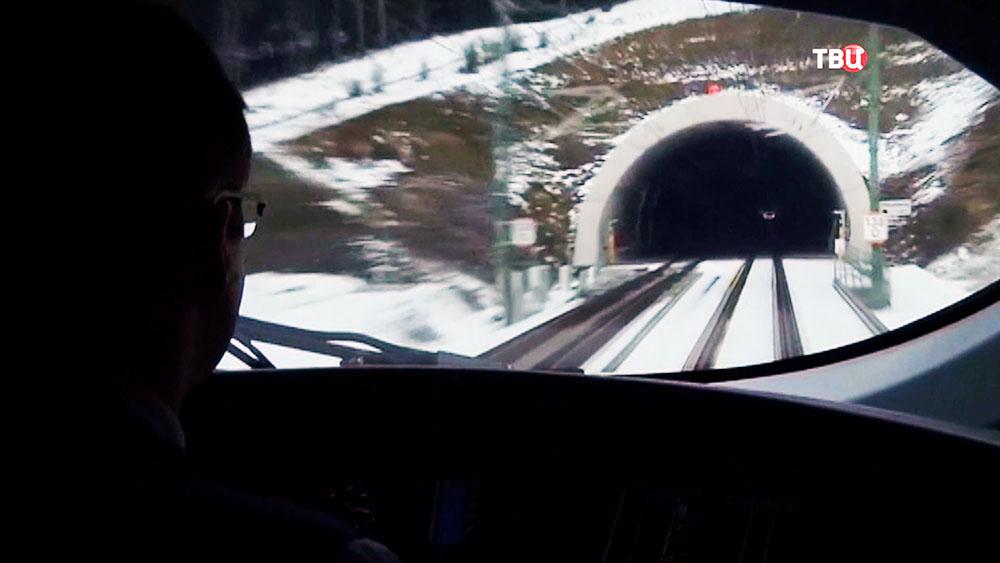 Скоростной поезд в Германии