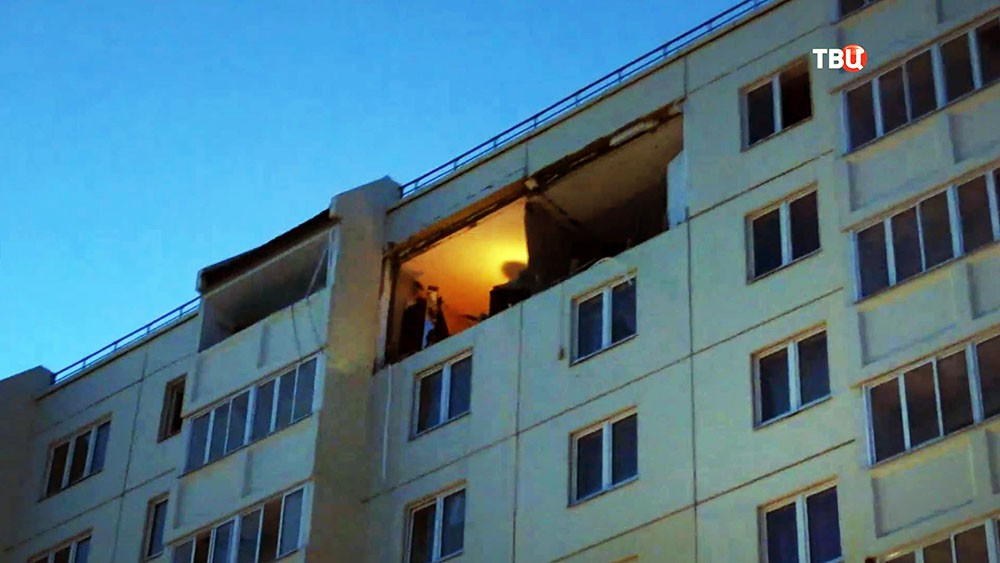 Последствия взрыва газа в многоквартирном доме