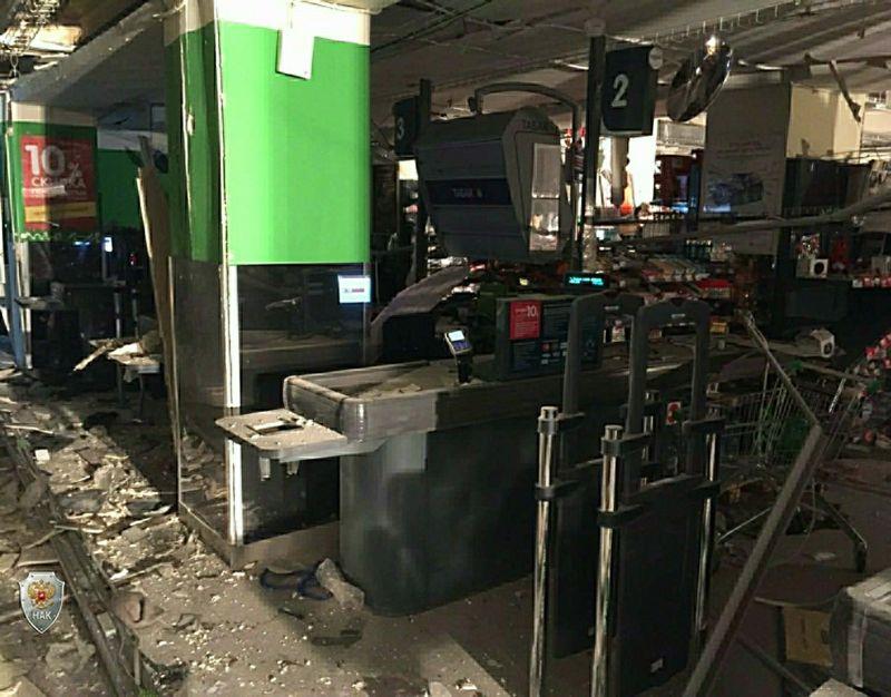 Последствия взрыва в Санкт-Петербурге