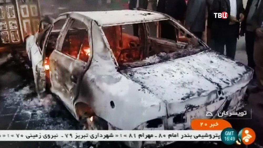 Последствия беспорядков в Иране