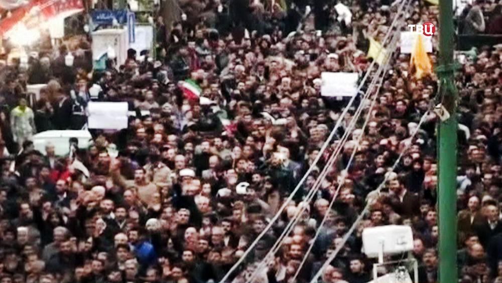 Митинг в Иране