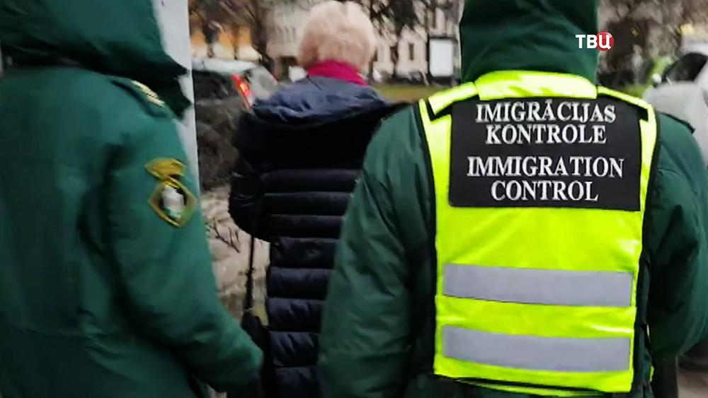 Миграционный контроль Латвии