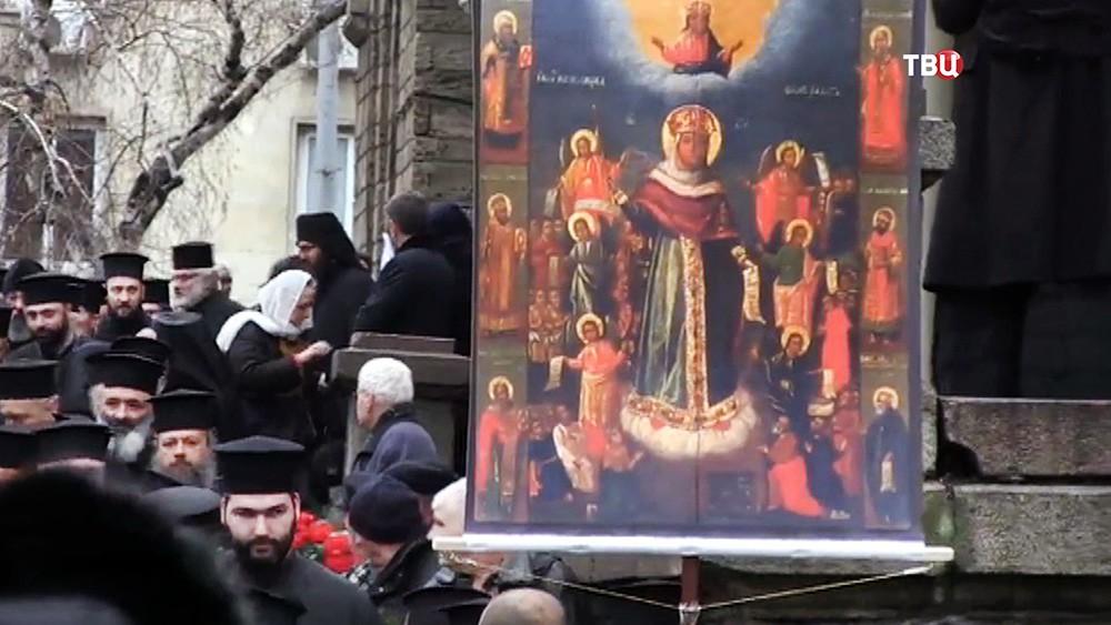 Крестный ход в Болгарии