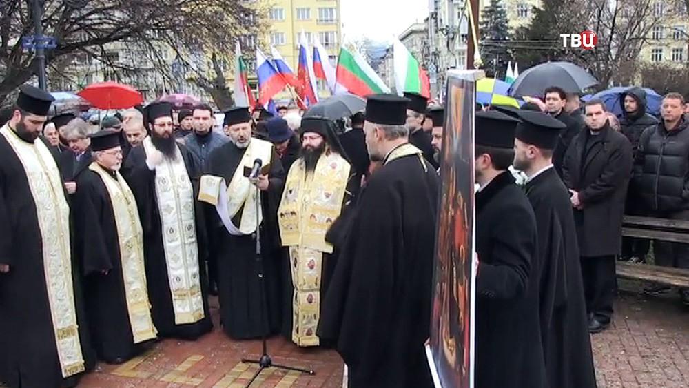Празднование дня освобождения Софии в ходе русско-турецкой войны