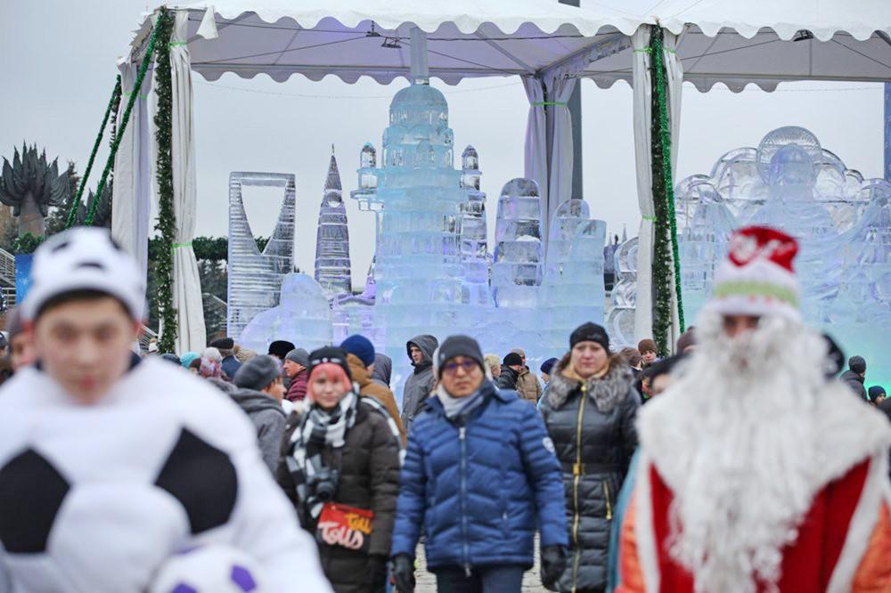 """Посетители фестиваля """"Путешествие в Врождество"""""""