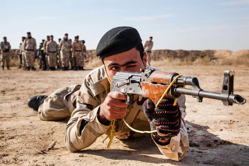 Подготовка курдских формирований