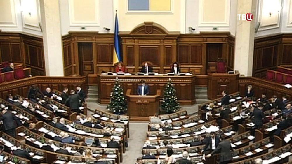 Заседание Верховная Рада Украины