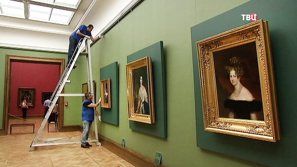 Выставка Карла Брюллова в Третьяковской галерее
