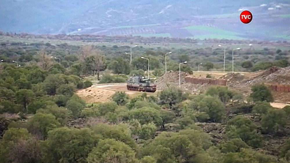 Артиллерия Турции на границе с Сирией