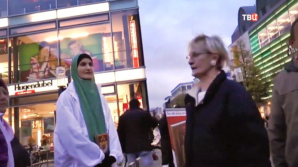 Мусульманские женщины в Европе