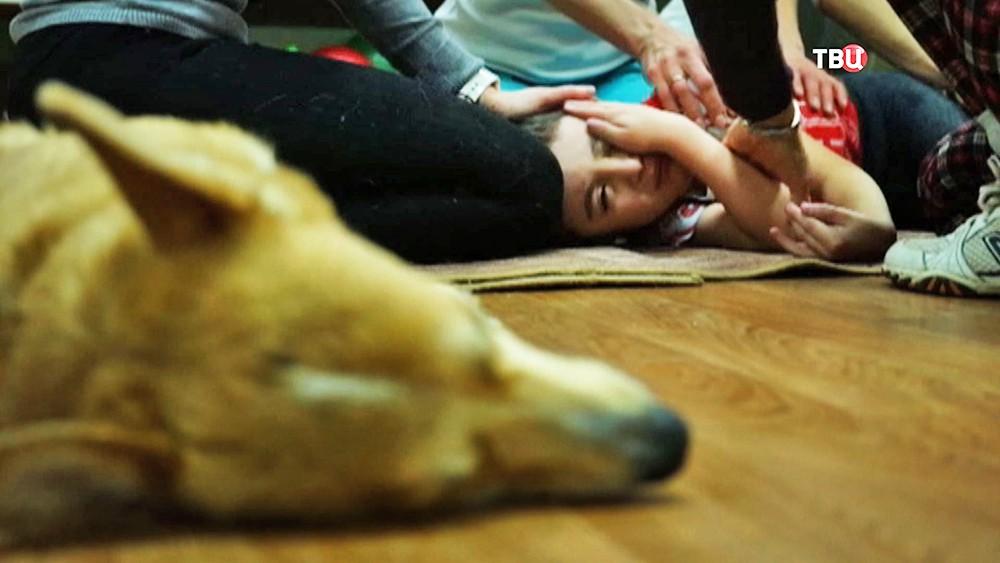 Зоотерапия для детей с проблемами в развитии