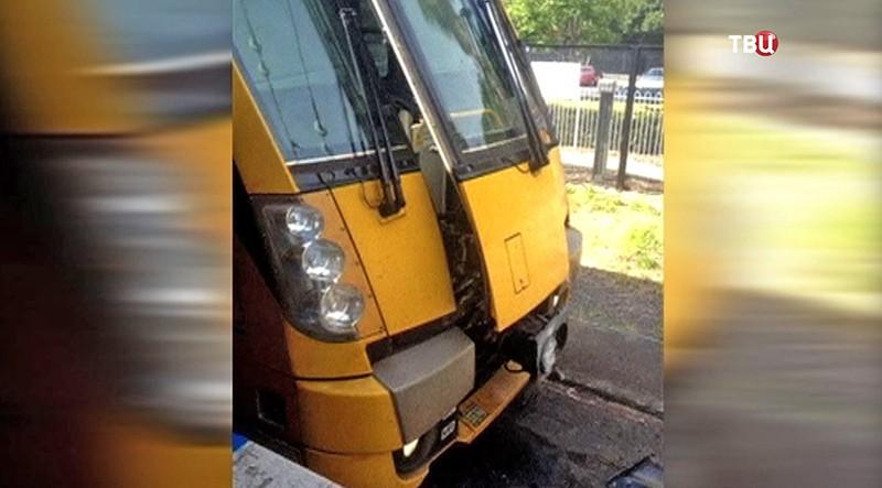 Железнодорожная авария в Сиднее
