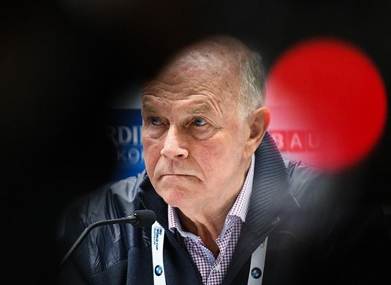 Глава Международного союза биатлонистов (IBU) Андерс Бессеберг