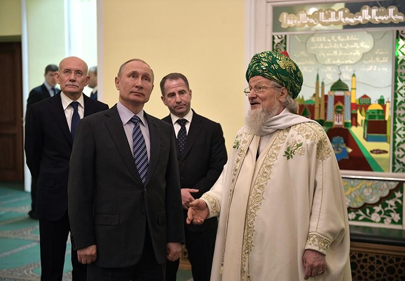 Рабочая поездка Владимира Путина в Башкирию