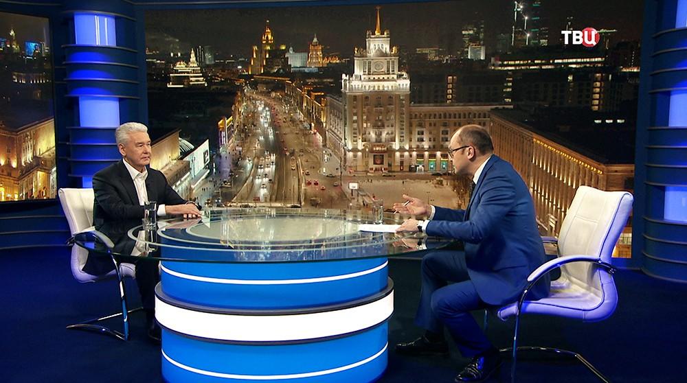"""Сергей Собянин в программе """"Наш город. Диалог с мэром"""""""