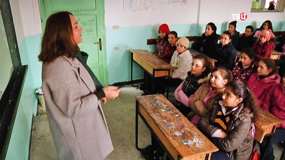 Школьники Сирии