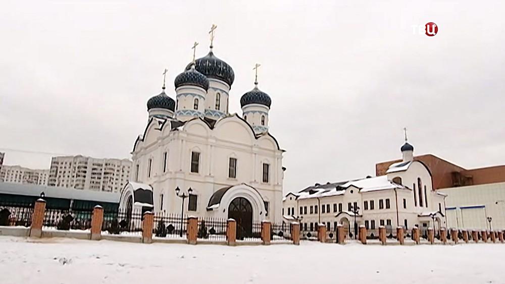 Храм в честь Федора Ушакова
