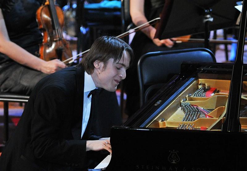Российский пианист Даниил Трифонов
