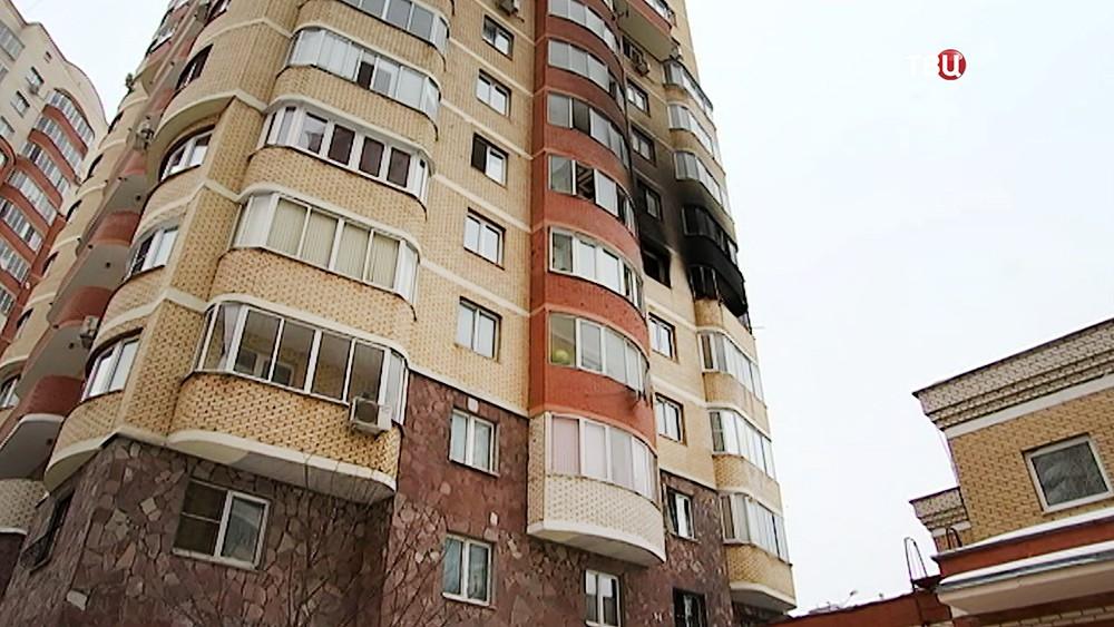 Последствия пожара в многоквартирном доме