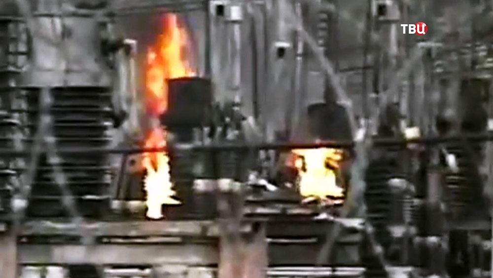 """Взрыв на подстанции """"Чагино"""""""