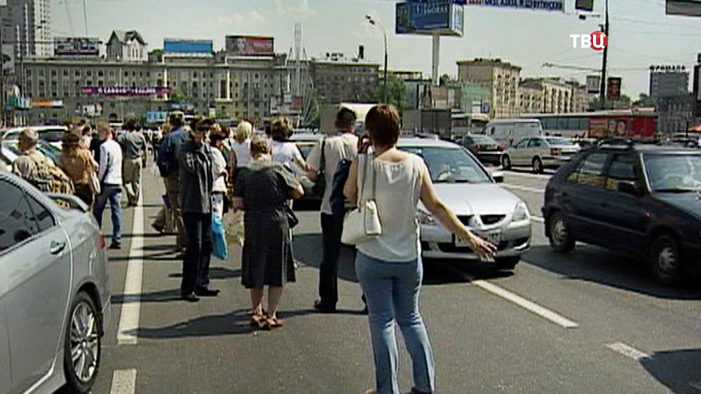 Последствия отключения электроэнергии в Москве