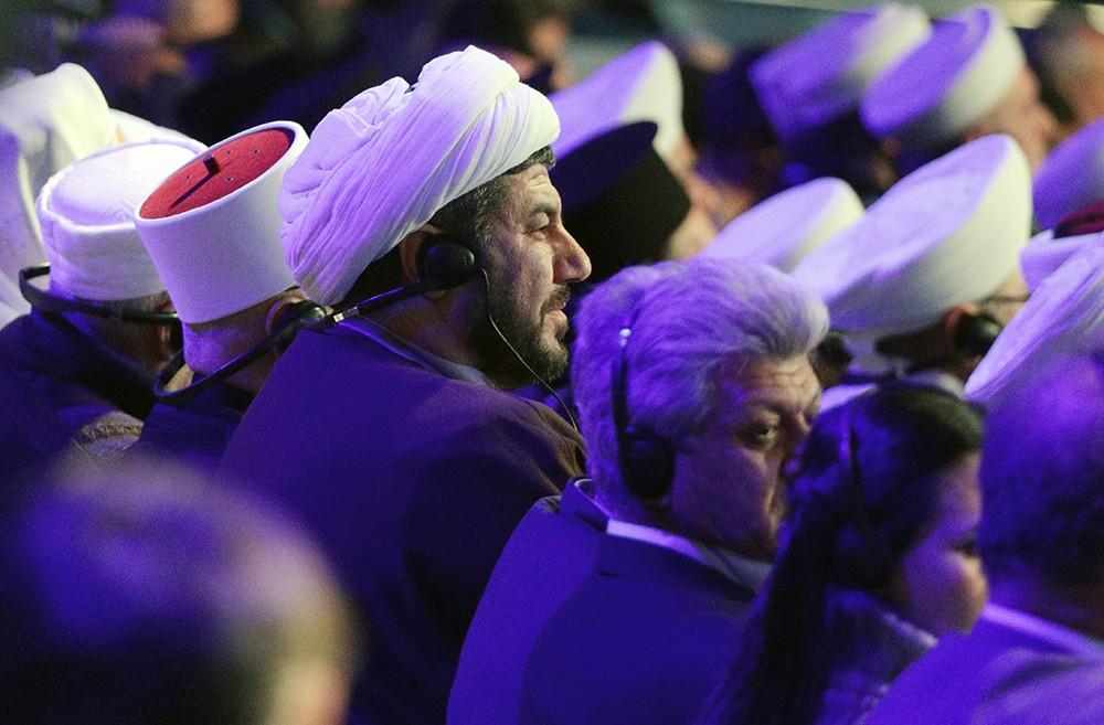 Участники Конгресса сирийского национального диалога