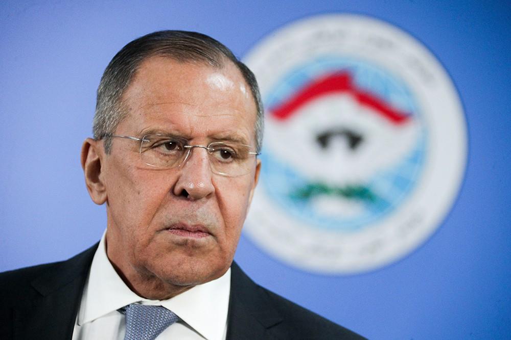 Сергей Лавров на конгрессе нацдиалога Сирии в Сочи