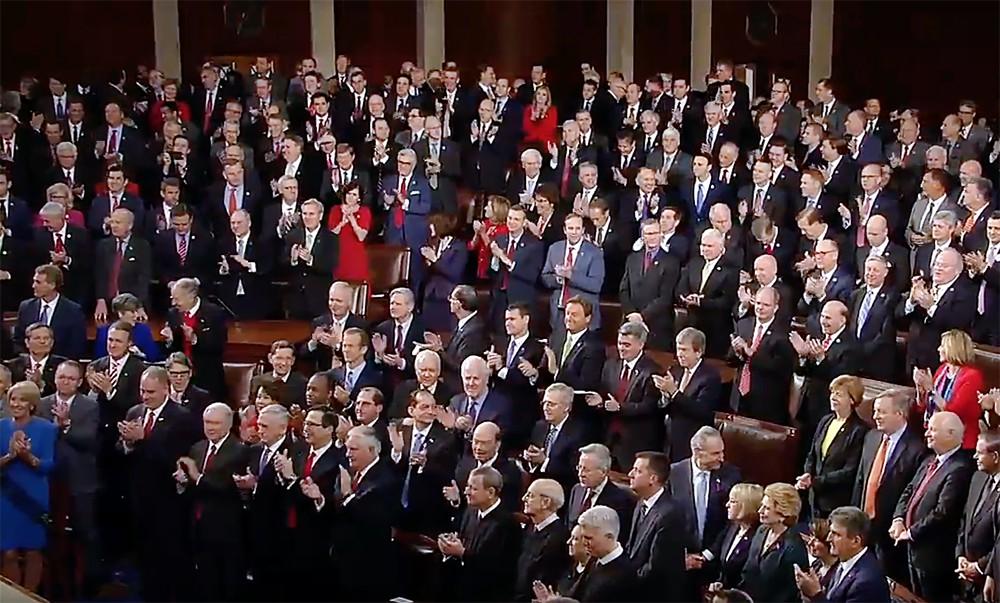 Заседание в Конгрессе