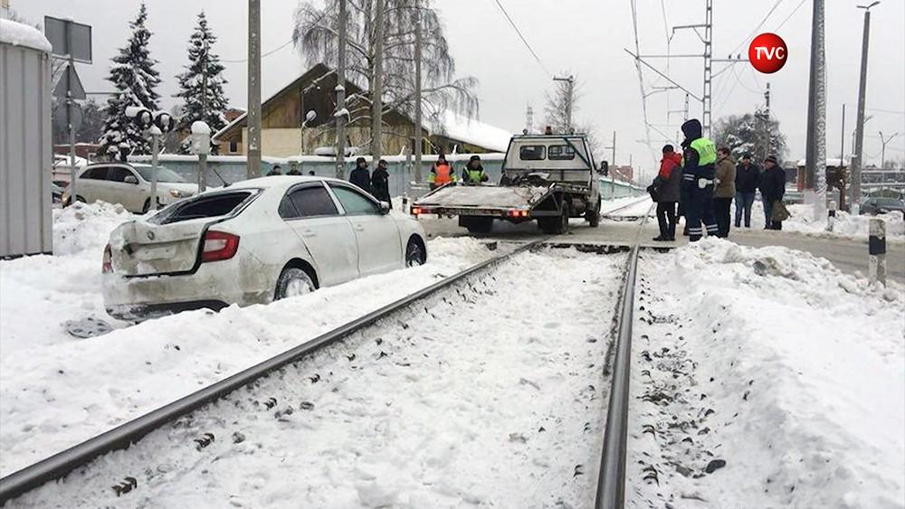 Последствия ДТП на железнодорожном переезде