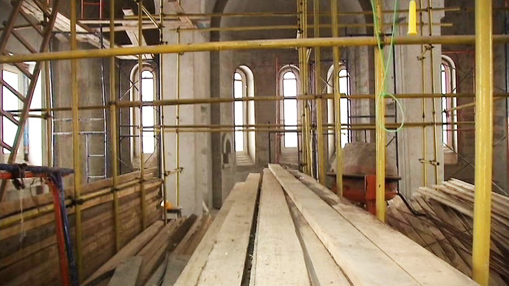 Строительство нового хама