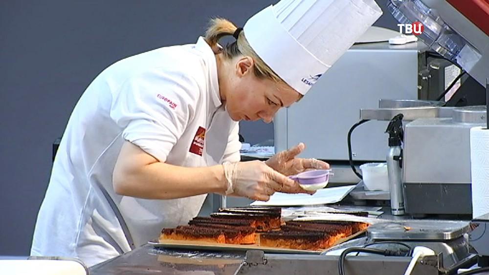 Российская команда на международном чемпионате по пекарскому искусству
