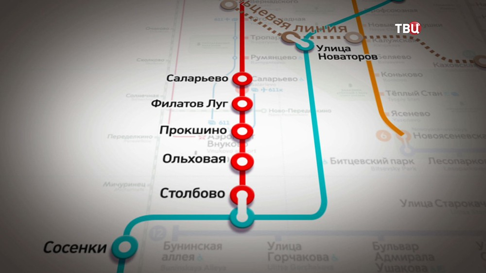 Проект новоых станций на Сокольничесткой ветке Московского метрополитена