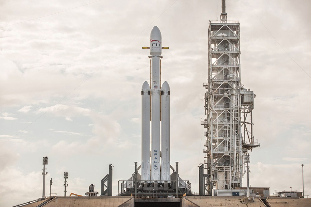 Ракета Falcon Heavy