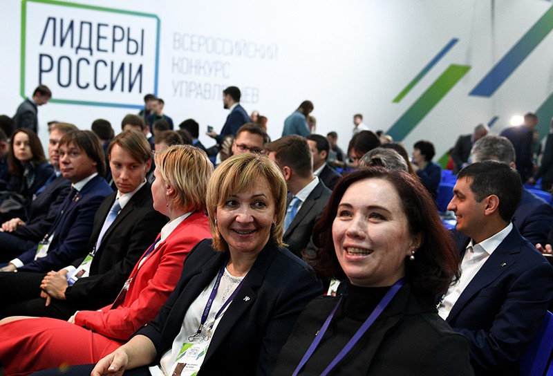 """Участники финала конкурса """"Лидеры России"""" в Сочи"""