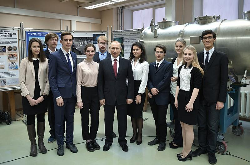 Рабочая поездка Владимира Путина в Новосибирск