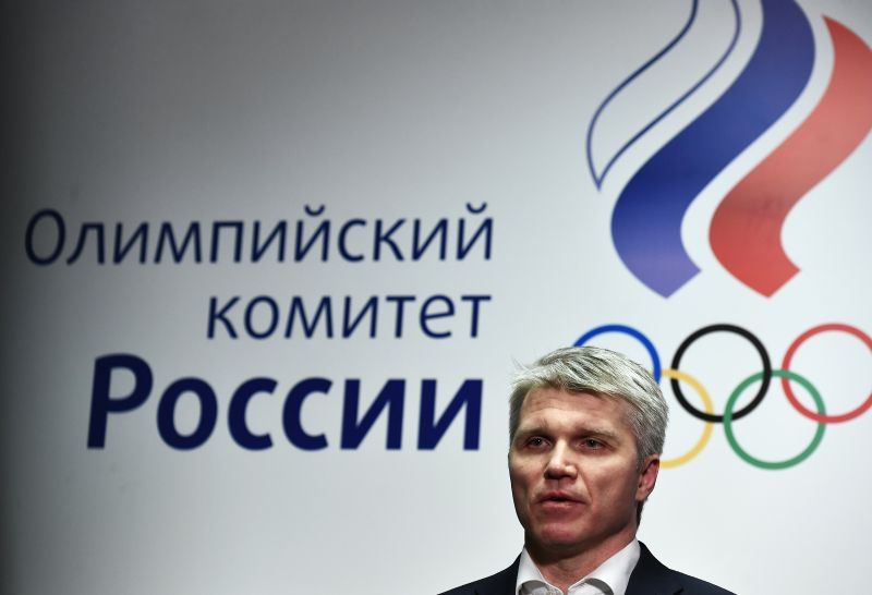 Министр спорта России Павел Колобков