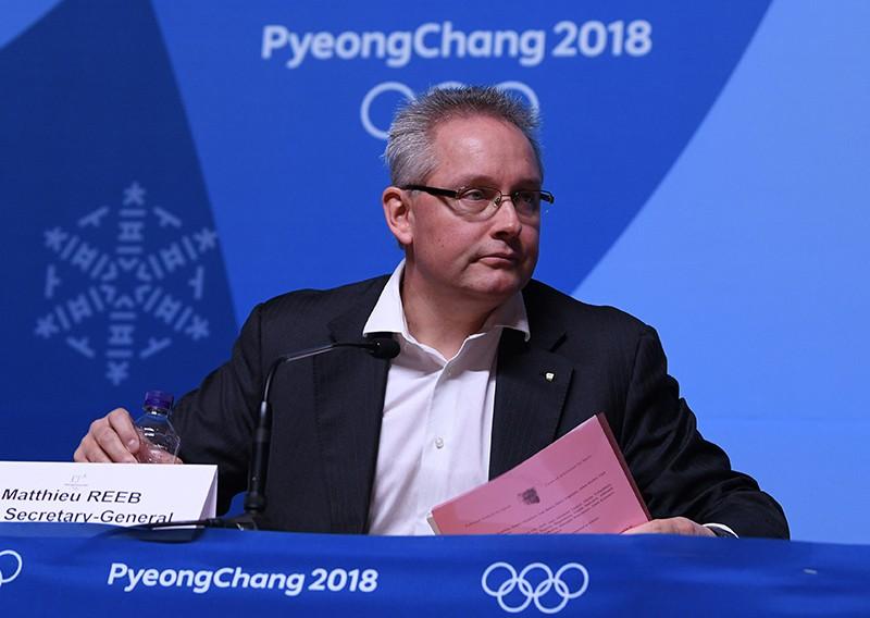Генеральный секретарь Спортивного арбитражного суда Матье Риб